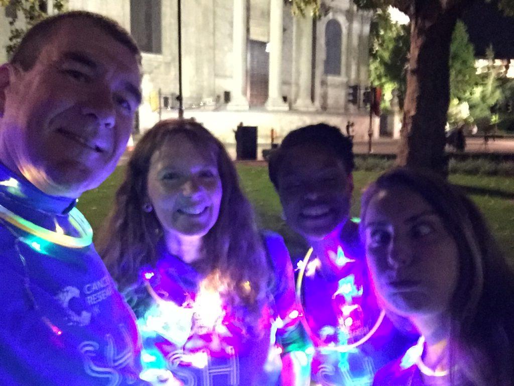 Nick, Alex, Emmelle & Emma. Shine 2017
