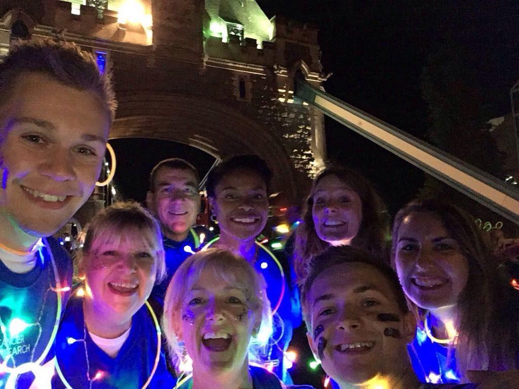 Oliver, Teresa, Suzanne, Jonathan, Nick, Emmelle, Alex & Emma 1. Shine 2017