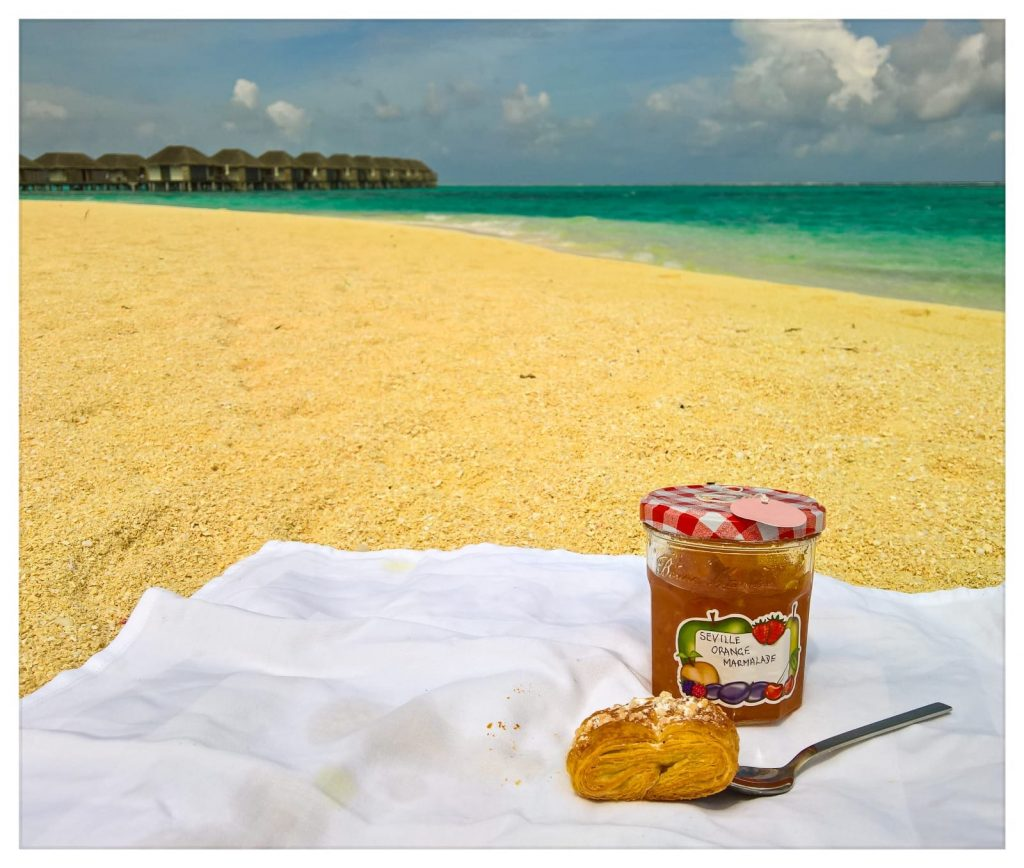 Ma's Marmalade on holiday in the Maldives!