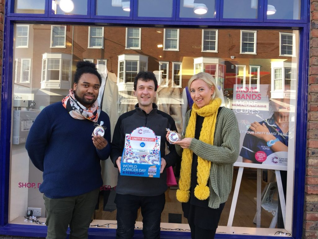 Unity Biscuits launched at CRUK Marlow