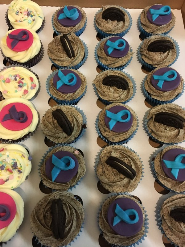 Heidi's famous cupcakes for WCD 2018